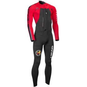 Head ÖTILLÖ Swimrun Rough Combinaison de protection Homme, black/red